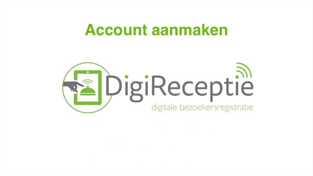 digireceptie-video-account-aanmaken