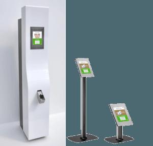 Hardware Digitale bezoekersregistratie DigiReceptie